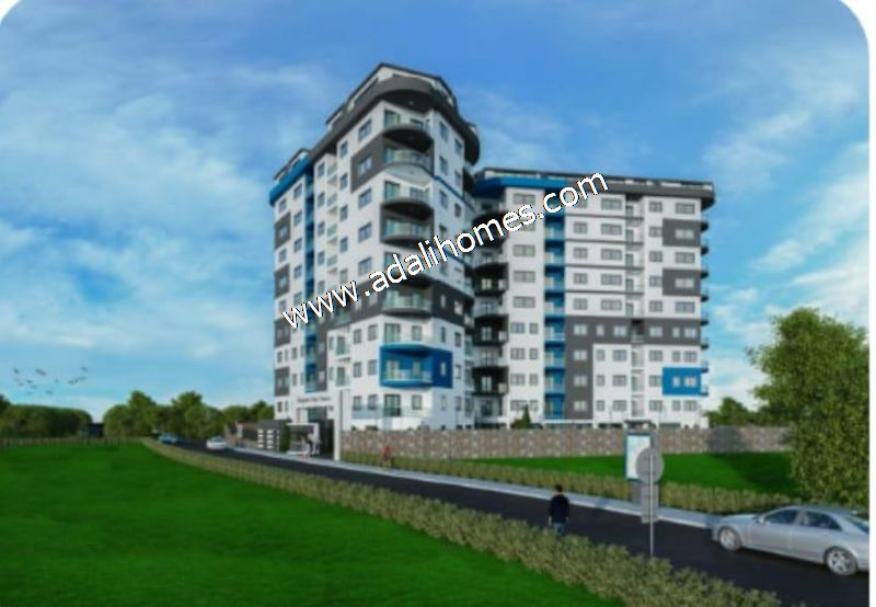 ALANYADA SIFIR PROJE 1+1 55M2 DAİRE